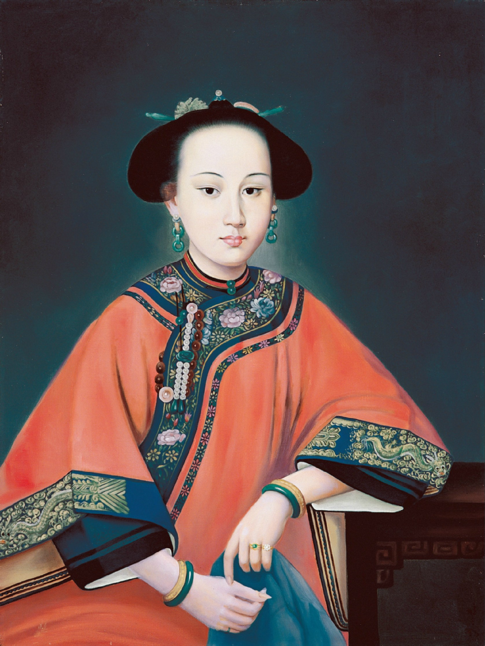 File:Consort Rong dressed in Manchu Clothes.JPG - Wikipedia, the free ...