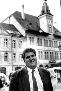 In 1979, Daniel Brélaz became the world's first green member of a national parliament (in Switzerland).