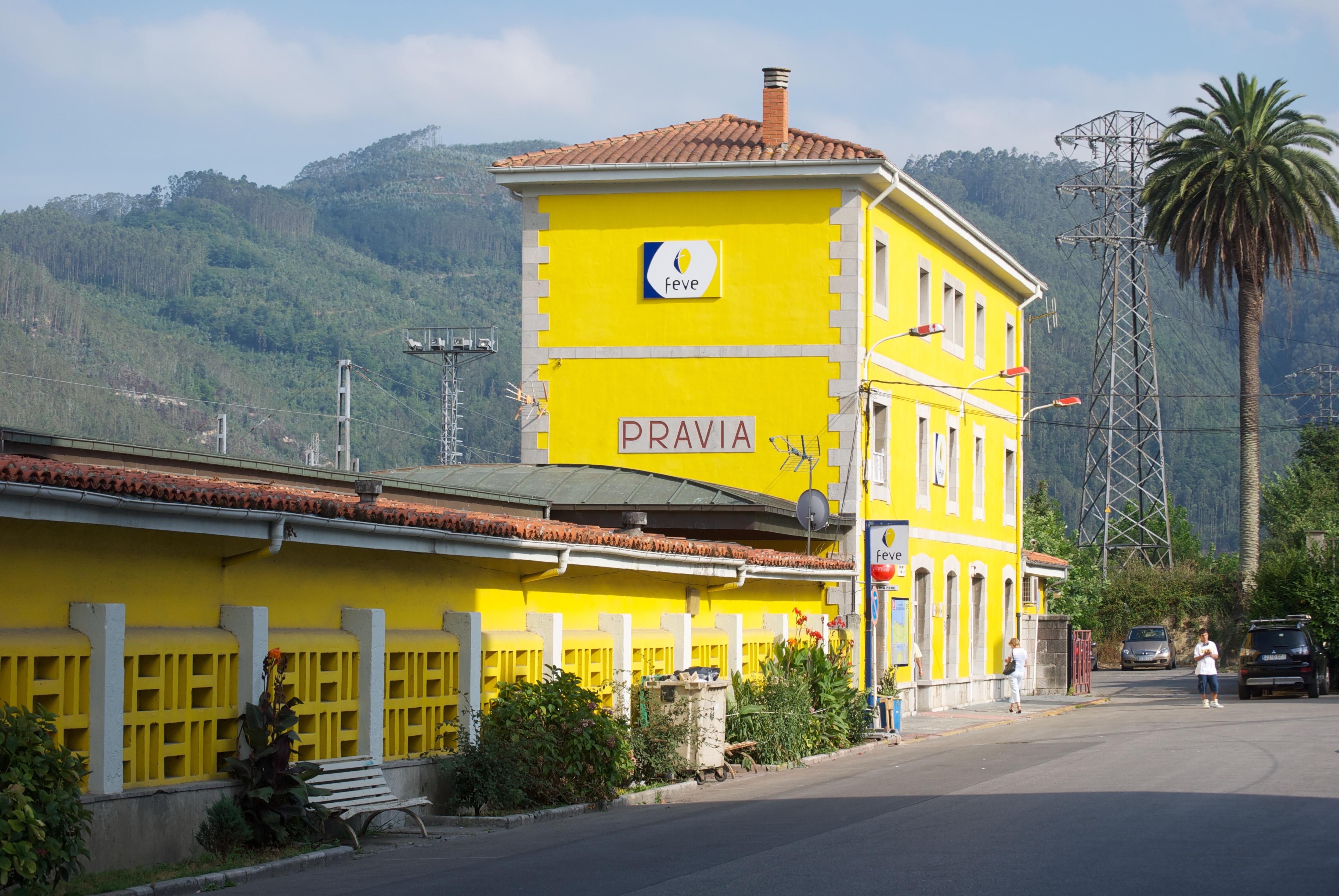 Estación de Pravia - Wikipedia, la enciclopedia libre