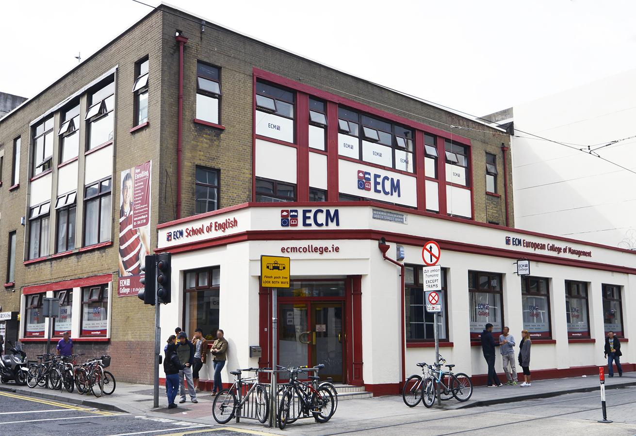 in the center of Dublin.jpg English: European College of Management in the center of Dublin Date 13 August 2013, 11:16:39 Source Own work Author ECM
