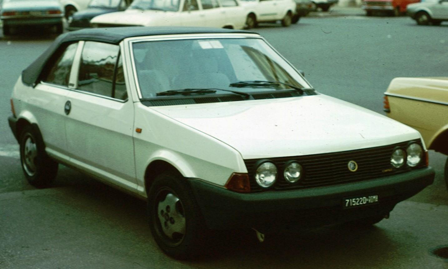 Fiat Ritmo Cabriolet Roma