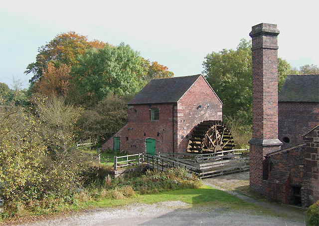 Flint Mill by the Caldon Canal, Cheddleton, Staffordshire - geograph.org.uk - 589625