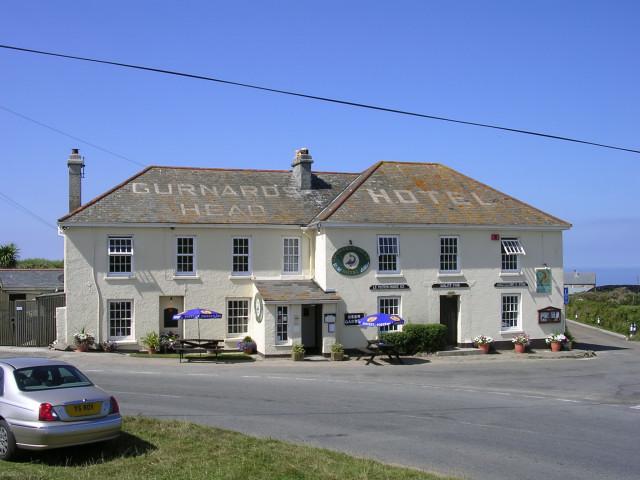 Gurnard's Head Hotel, Treen - geograph.org.uk - 40794