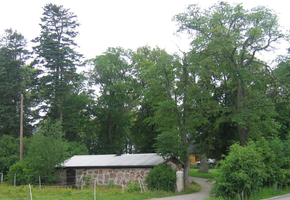 Stenstrngar och odlingslmningar vid Hagbylund - Samla