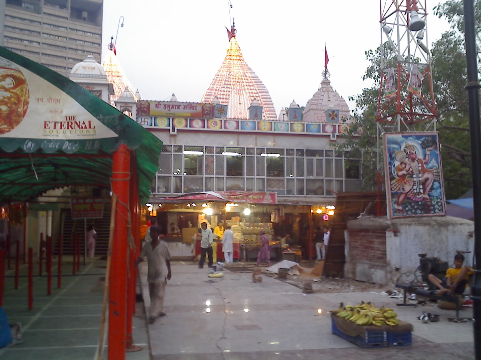 Image result for purana hanuman mandir
