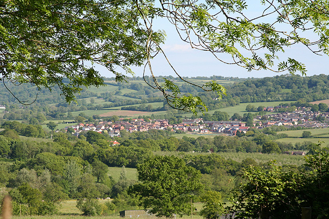Hemyock, the village from Culm Davy - geograph.org.uk - 178765