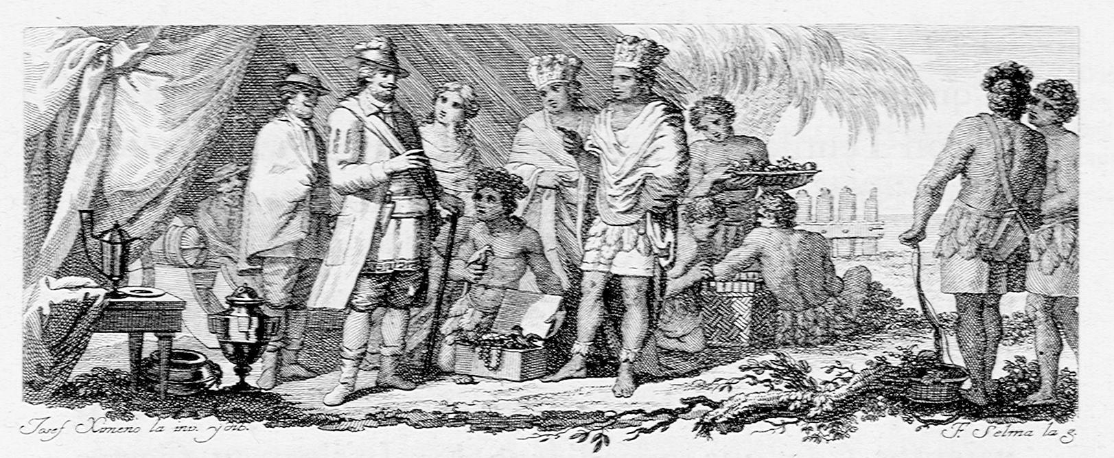 Filehistoria De La Conquista De México 1783 Grabado Libro Ii