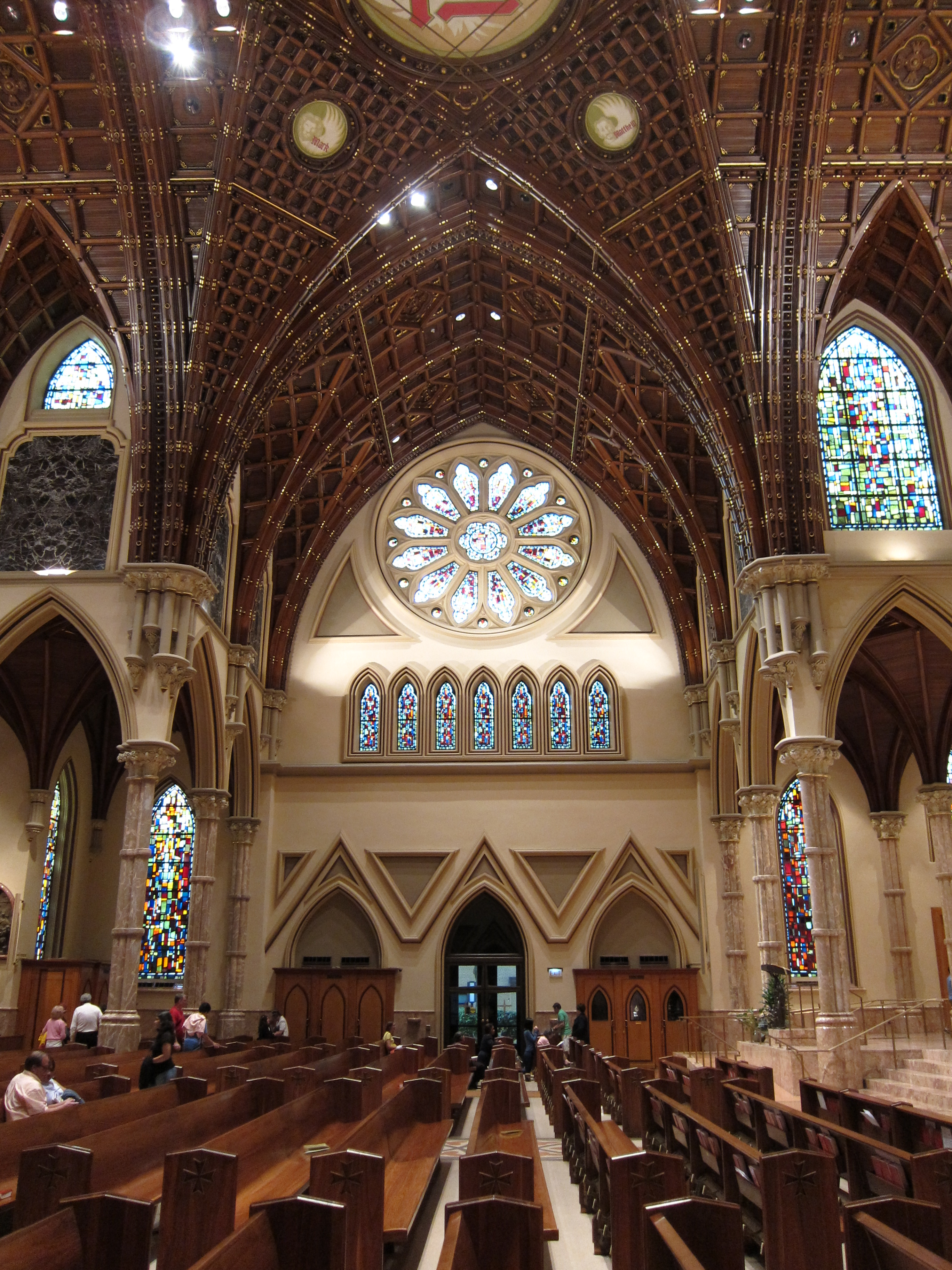 Holy Name Cathedral (Chicago, Illinois) - interior, transcept.jpg