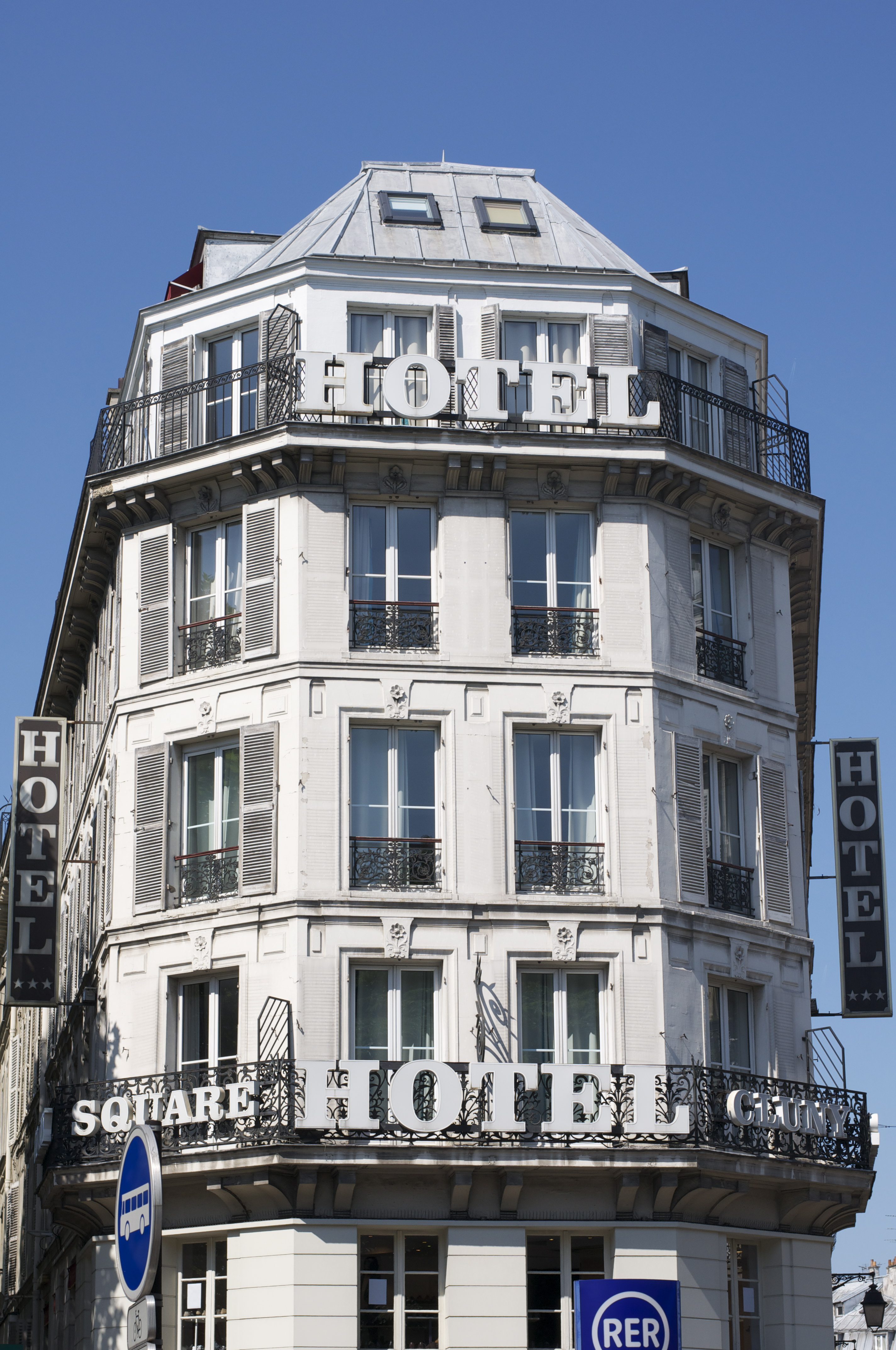 Hotel Cluny Square  Boulevard Saint Michel  Paris France