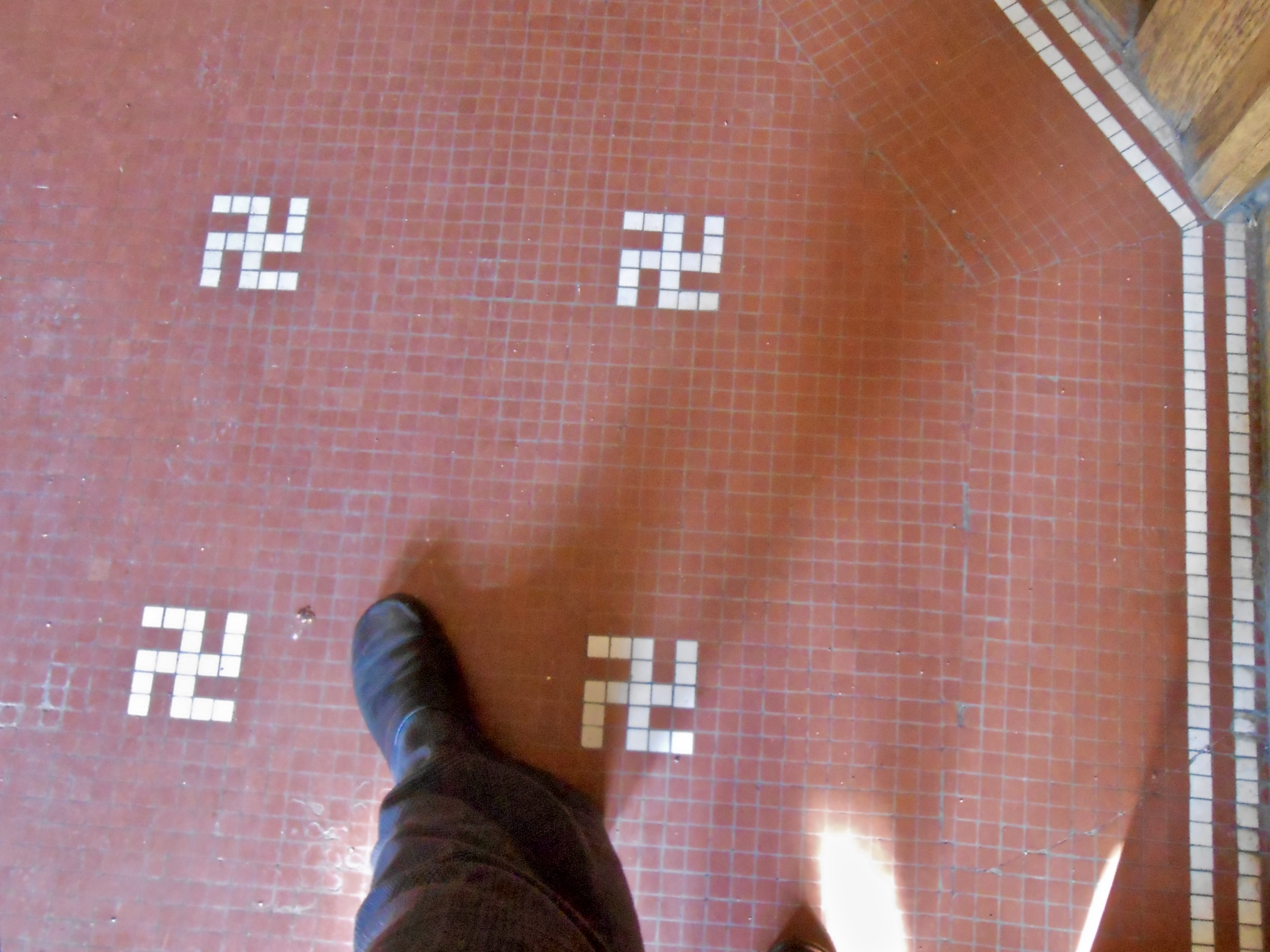 Western use of the swastika in the early 20th century wikipedia montana club foyer mosaic with swastika design installed in 1893 and kept with 1905 restoration of the building following a fire buycottarizona Image collections