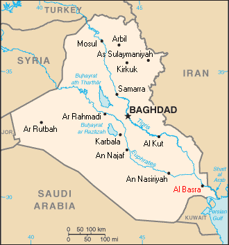 File:Iraq map basra.png   Wikimedia Commons