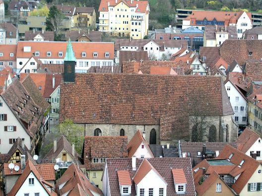 Tübingen Sie Markt Ihn Sucht