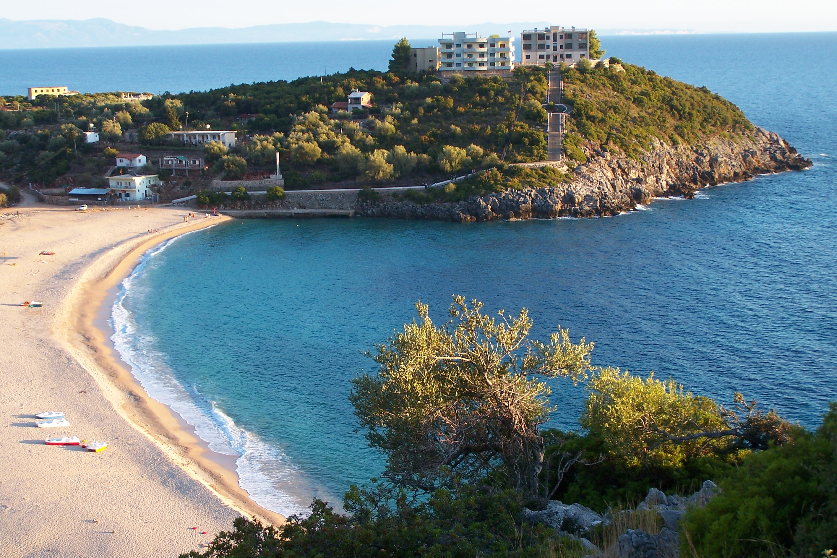 Albania Beach File:jala Beach Vlora Albania