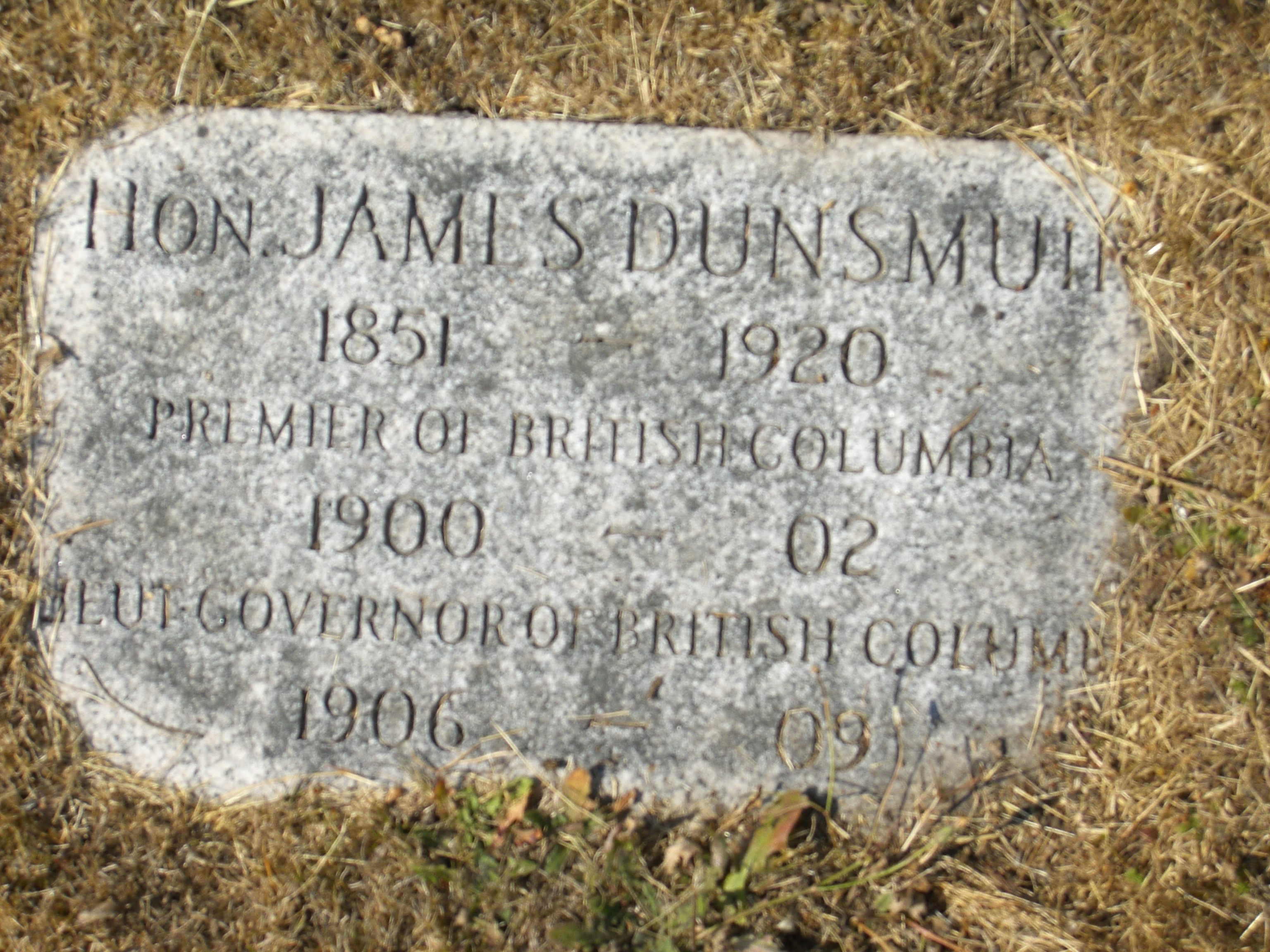 James Dunsmuir Net Worth