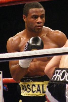 Canadian boxer Jean Pascal