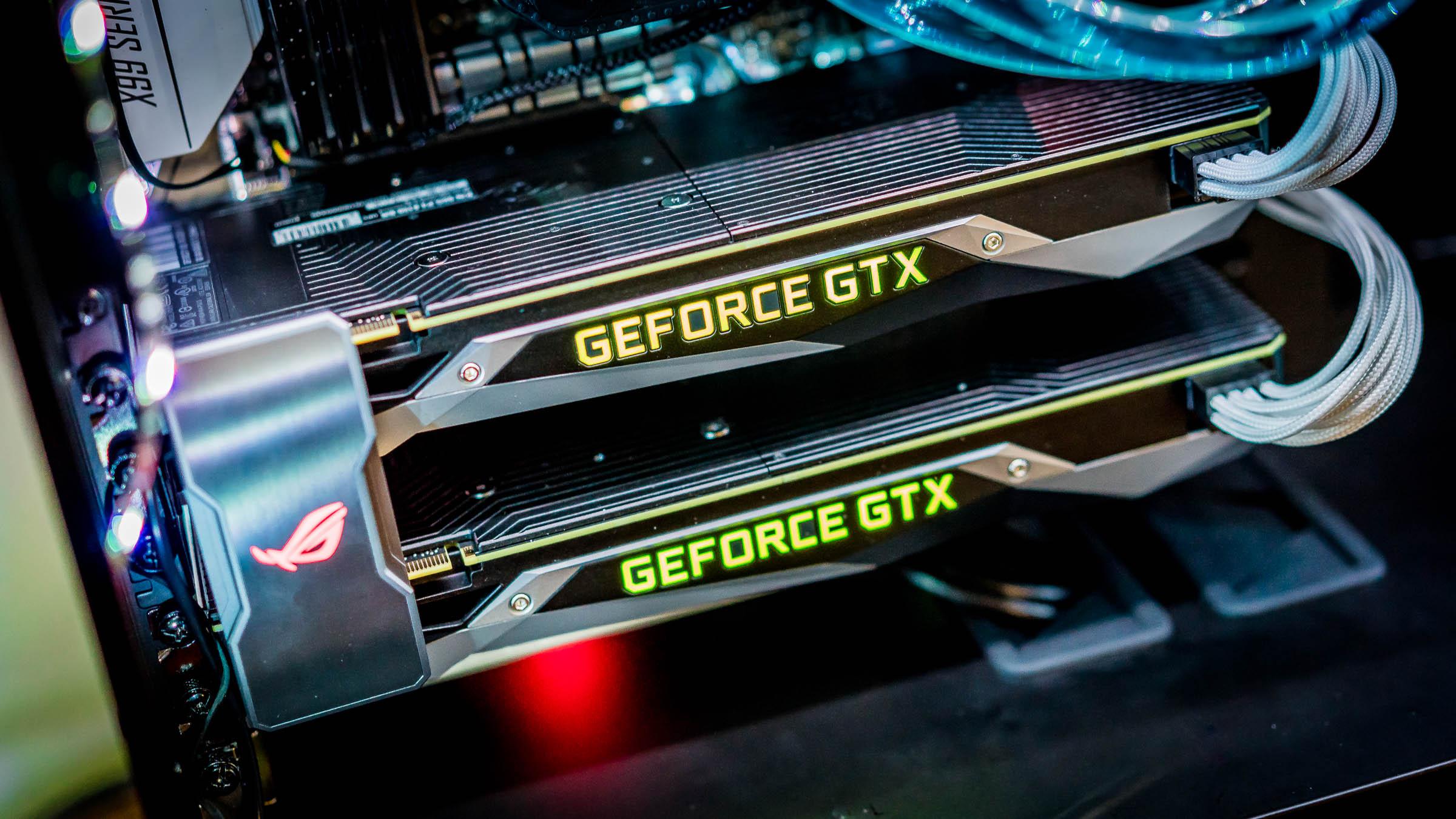 File:Két Nvidia GTX 1080 SLI-ban jpg - Wikimedia Commons
