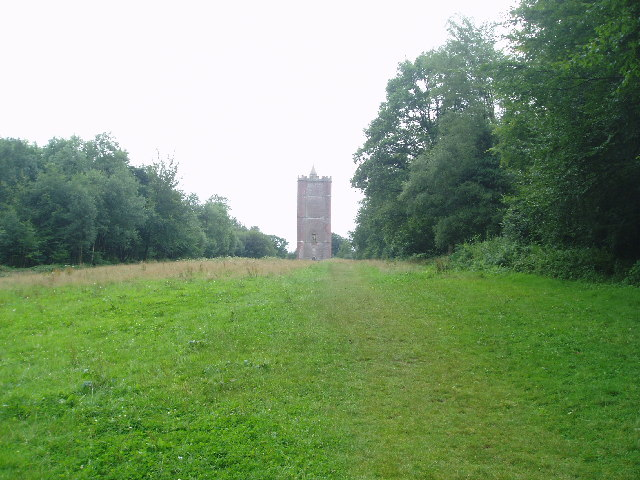 King Alfred's Tower at Stourhead - geograph.org.uk - 32682