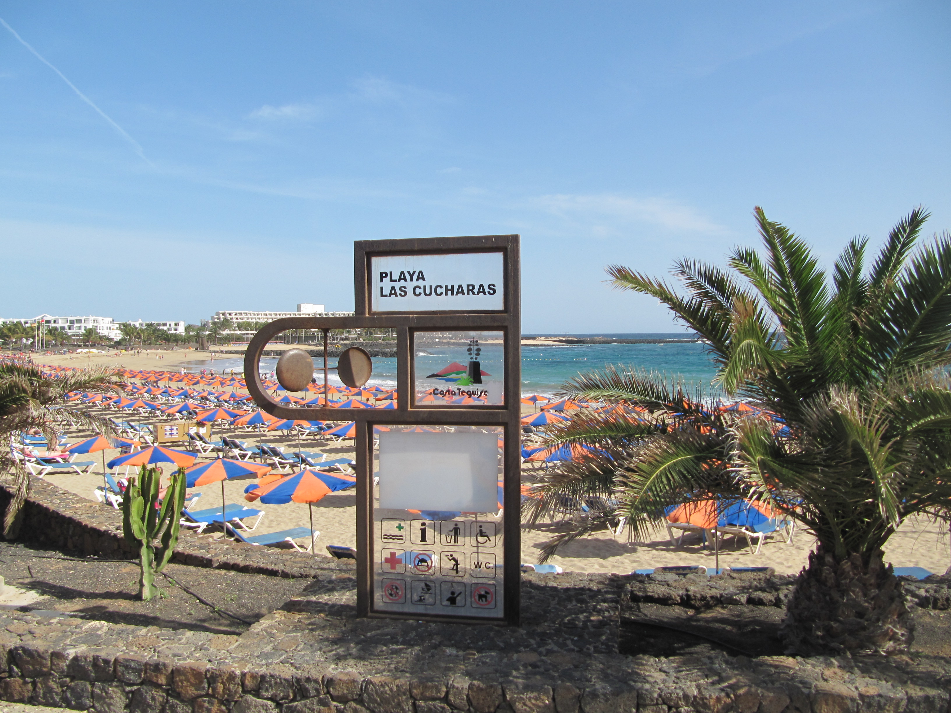 Image result for playa de las cucharas lanzarote