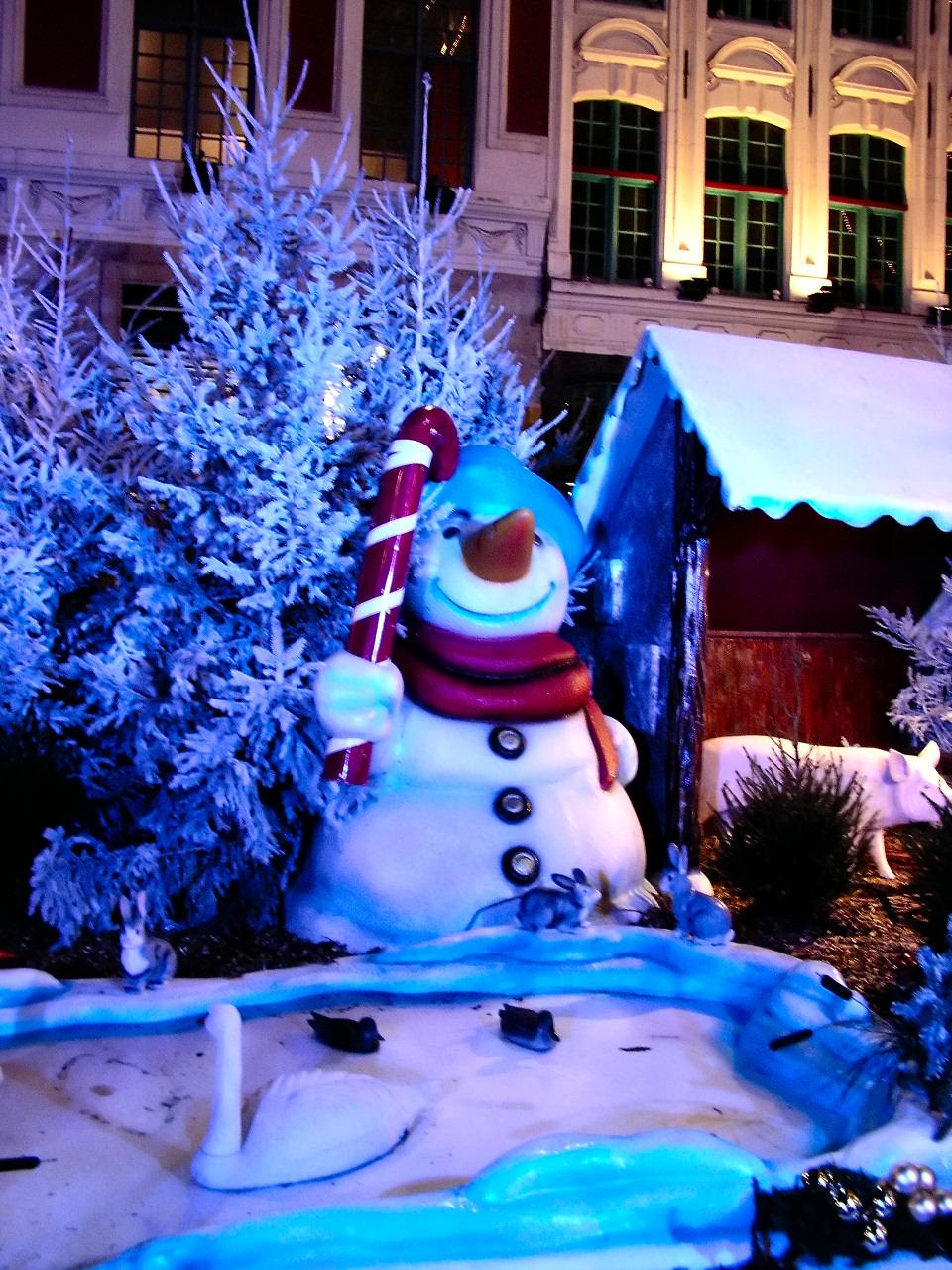 File lille bonhomme de neige sucre d 39 wikimedia - Bonhomme de neige decoration exterieure ...