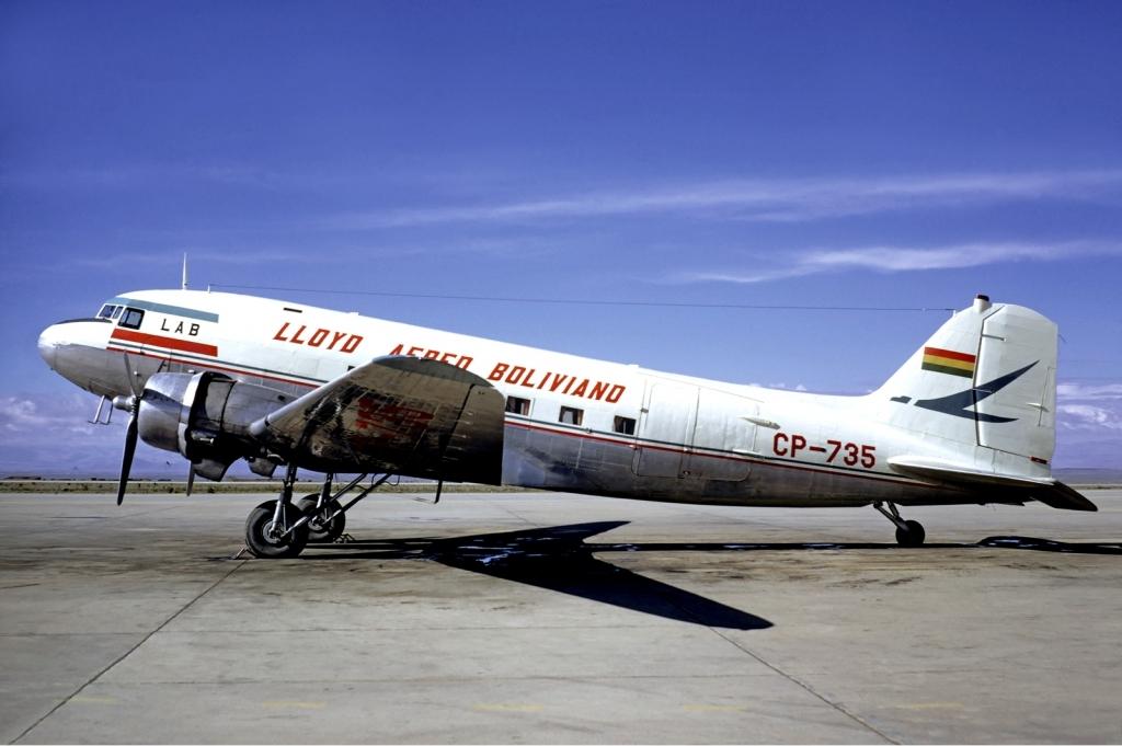 Uñt'ayawi lloyd aereo boliviano douglas dc-3 volpati