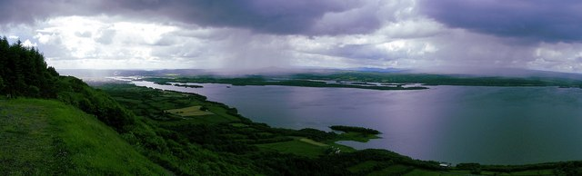 Panorama Lower Lough Erne