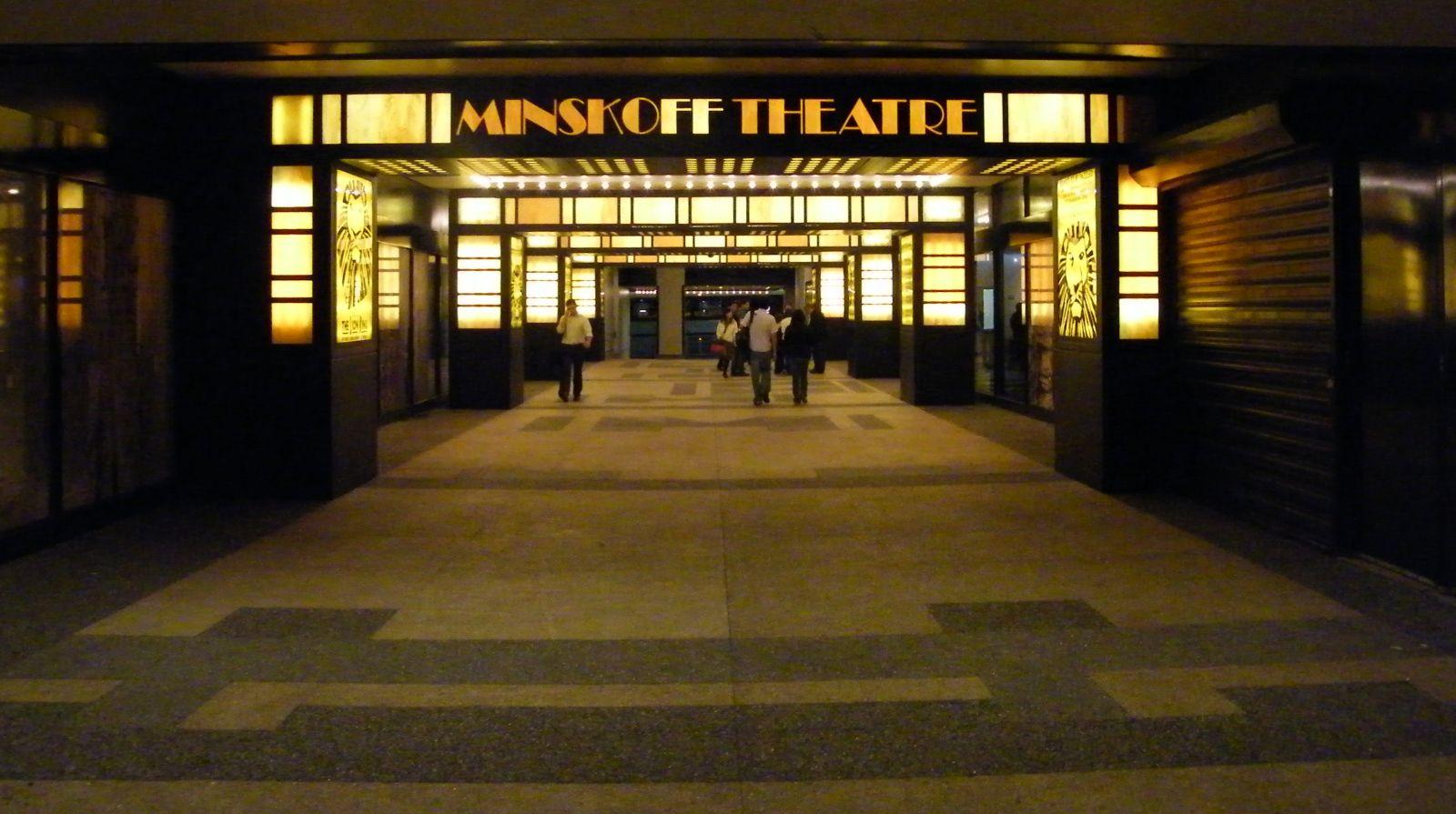 File Minskoff Theatre Lobby Jpg Wikimedia Commons