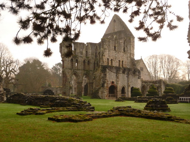 Much Wenlock, St. Milburge's Priory - geograph.org.uk - 1627207