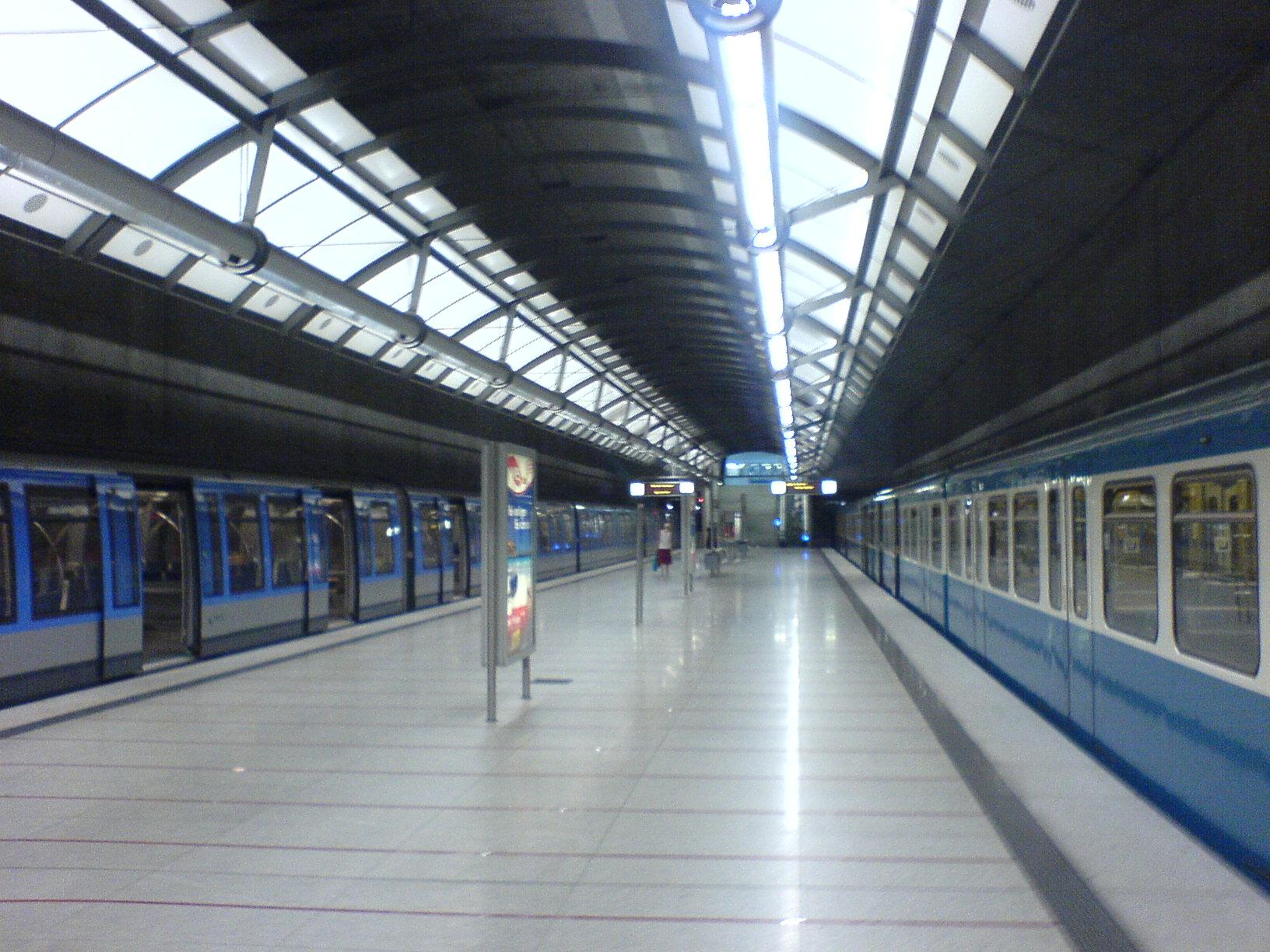 U Bahnhof Messestadt Ost Wikipedia
