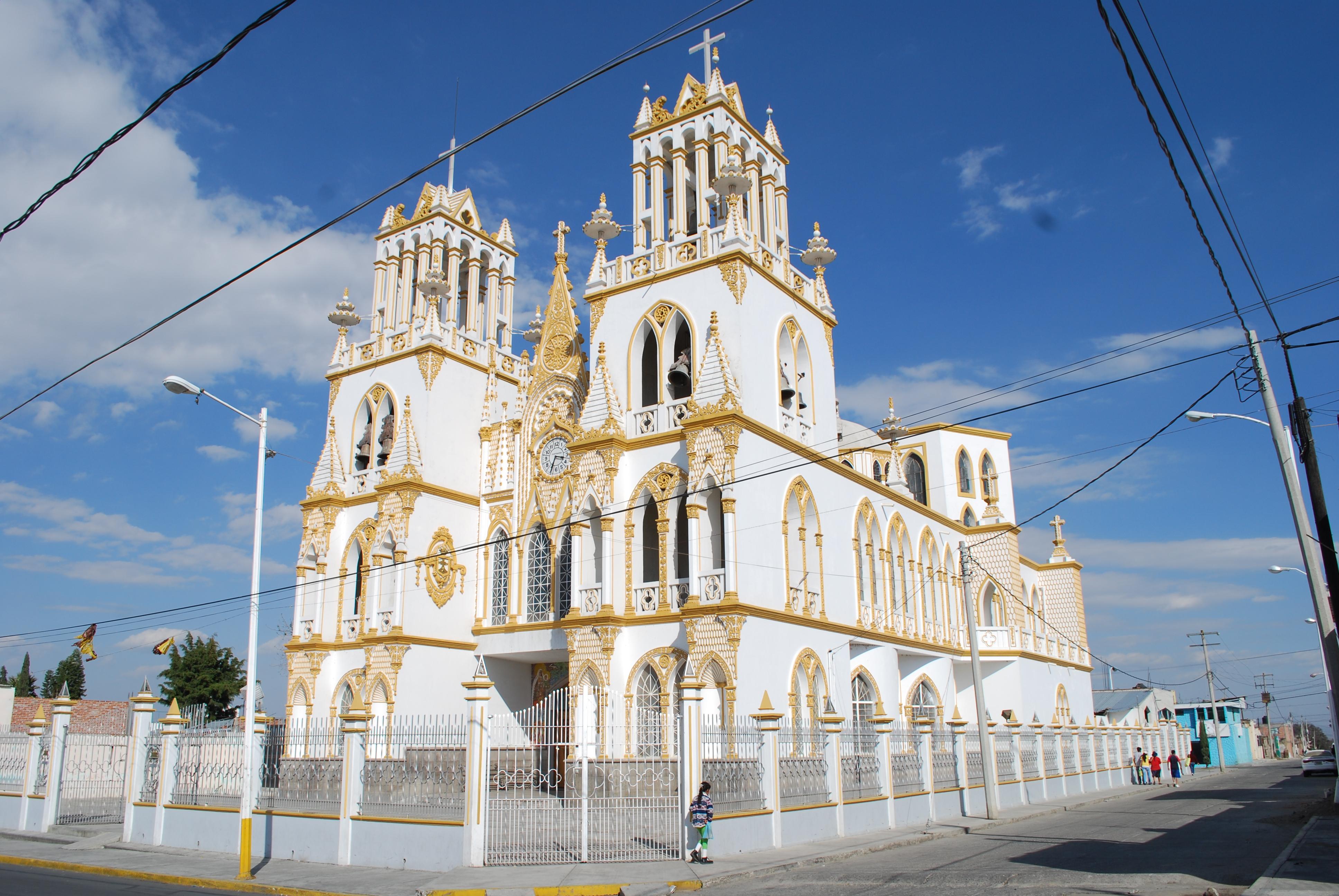 Templo de Nuestra Señora del Carmen, Huejotzingo