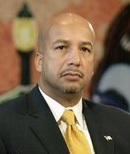 New Orleans Mayor Ray Nagin during a roundtabl...