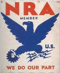 NRA (National Recovery Administration) member:...