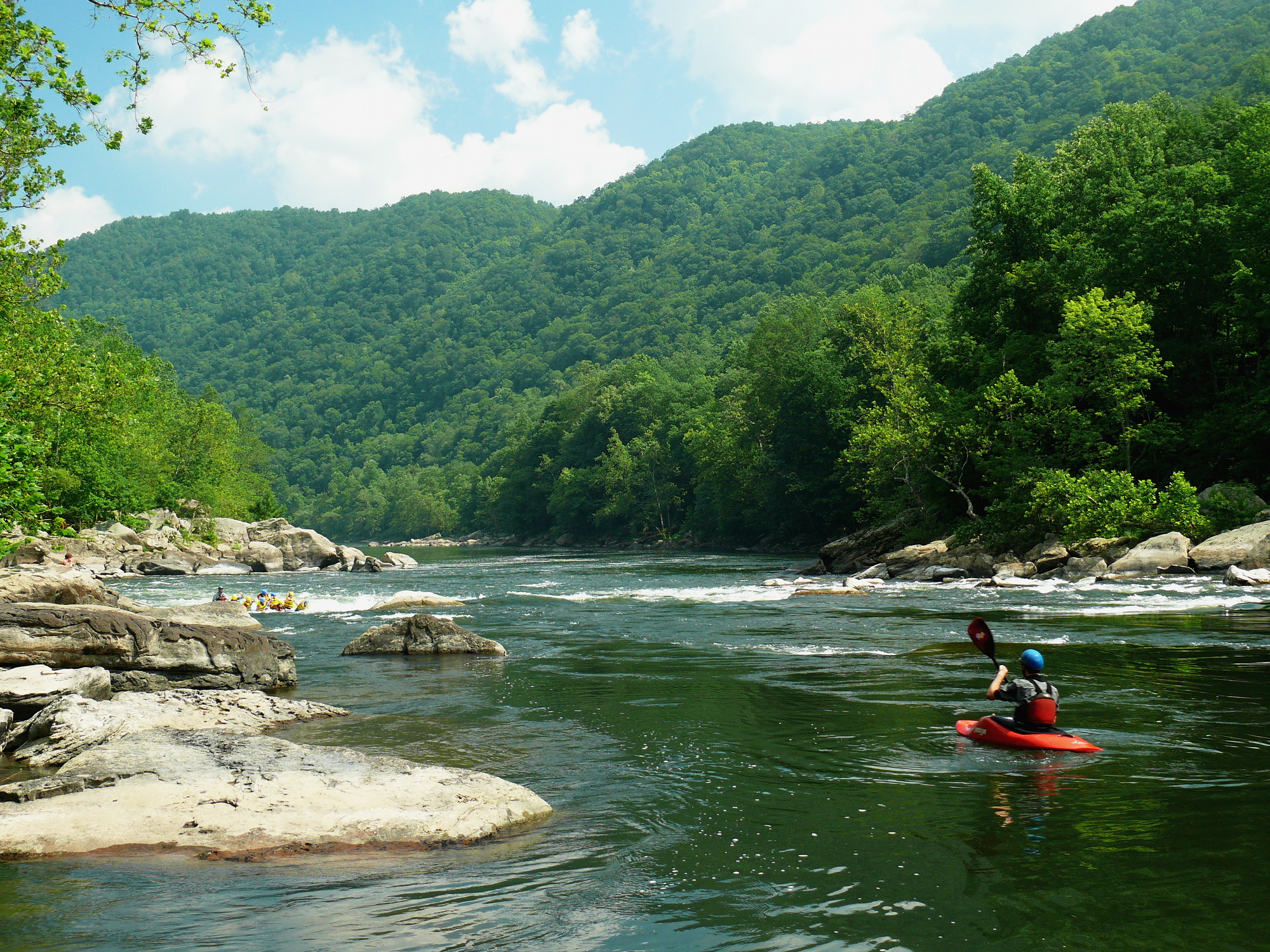 New River Gorge Kayaking File:new River Gorge-27527-3