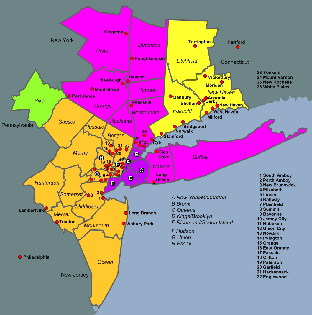 New York metropolitan area
