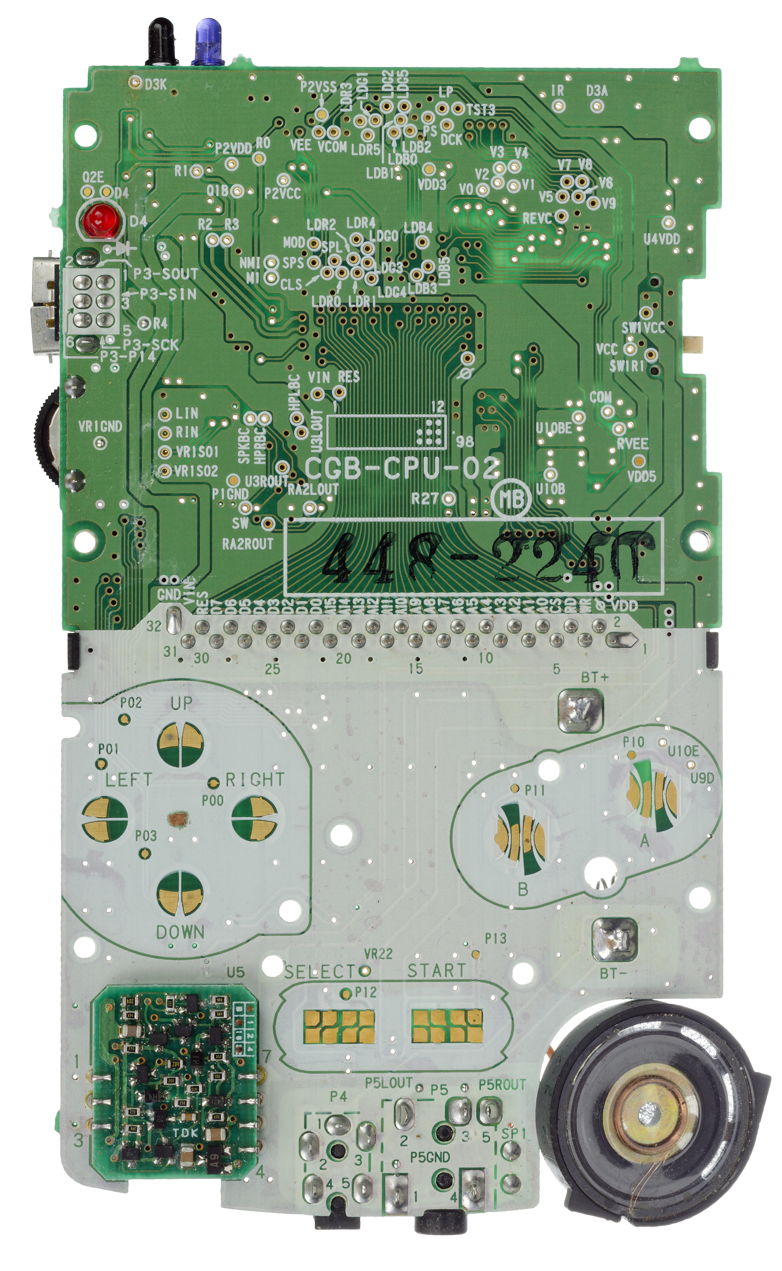 Nintendo Game Boy Color Power Switch Replacement Repair Gbc Wiring Diagram