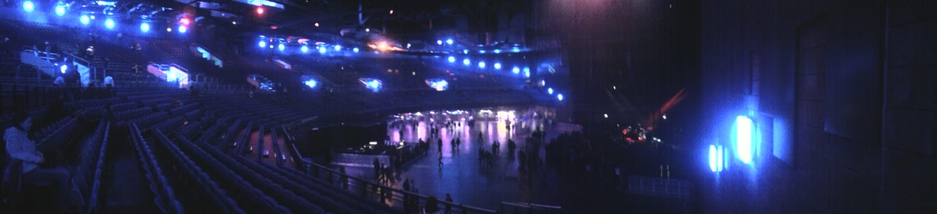 Vista panorámica del interior del recinto.