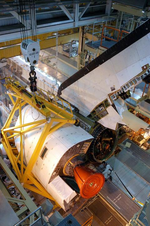 [STS124 -Discovery/Kibo]: La mission OMS_pod