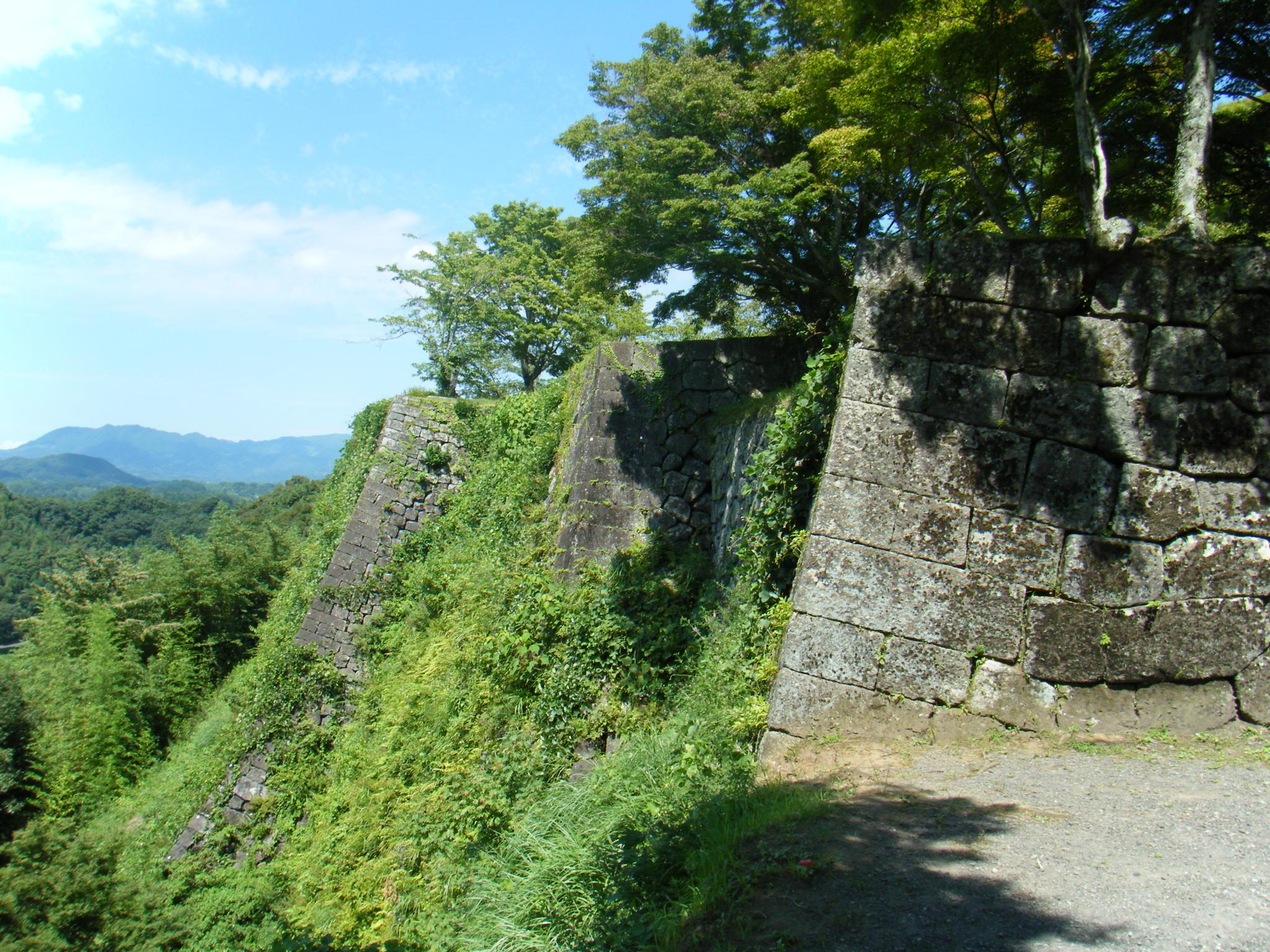三の丸 高石垣