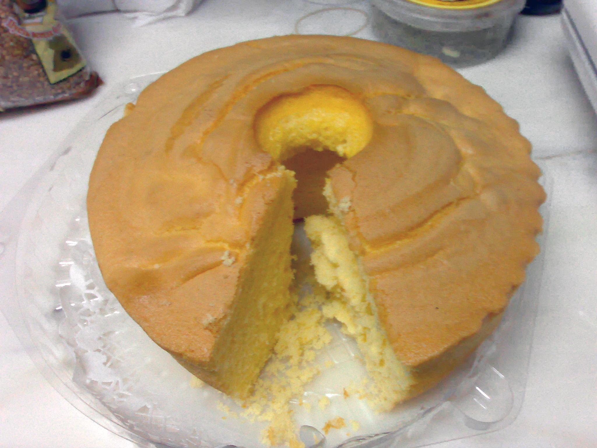 Cake In Portuguese