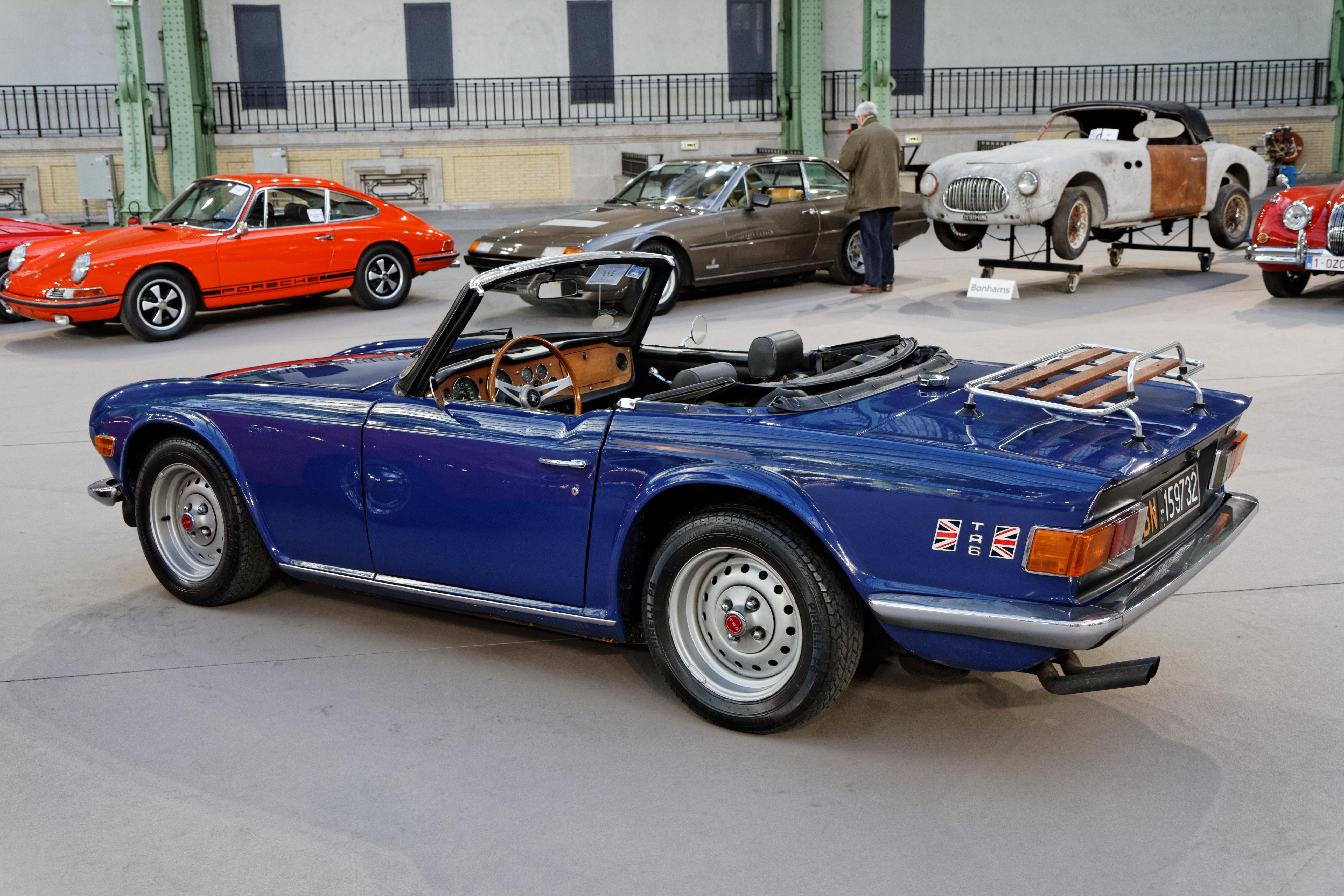 File:Paris - Bonhams 2014 - Triumph TR6 Roadster - 1974 - 004 jpg