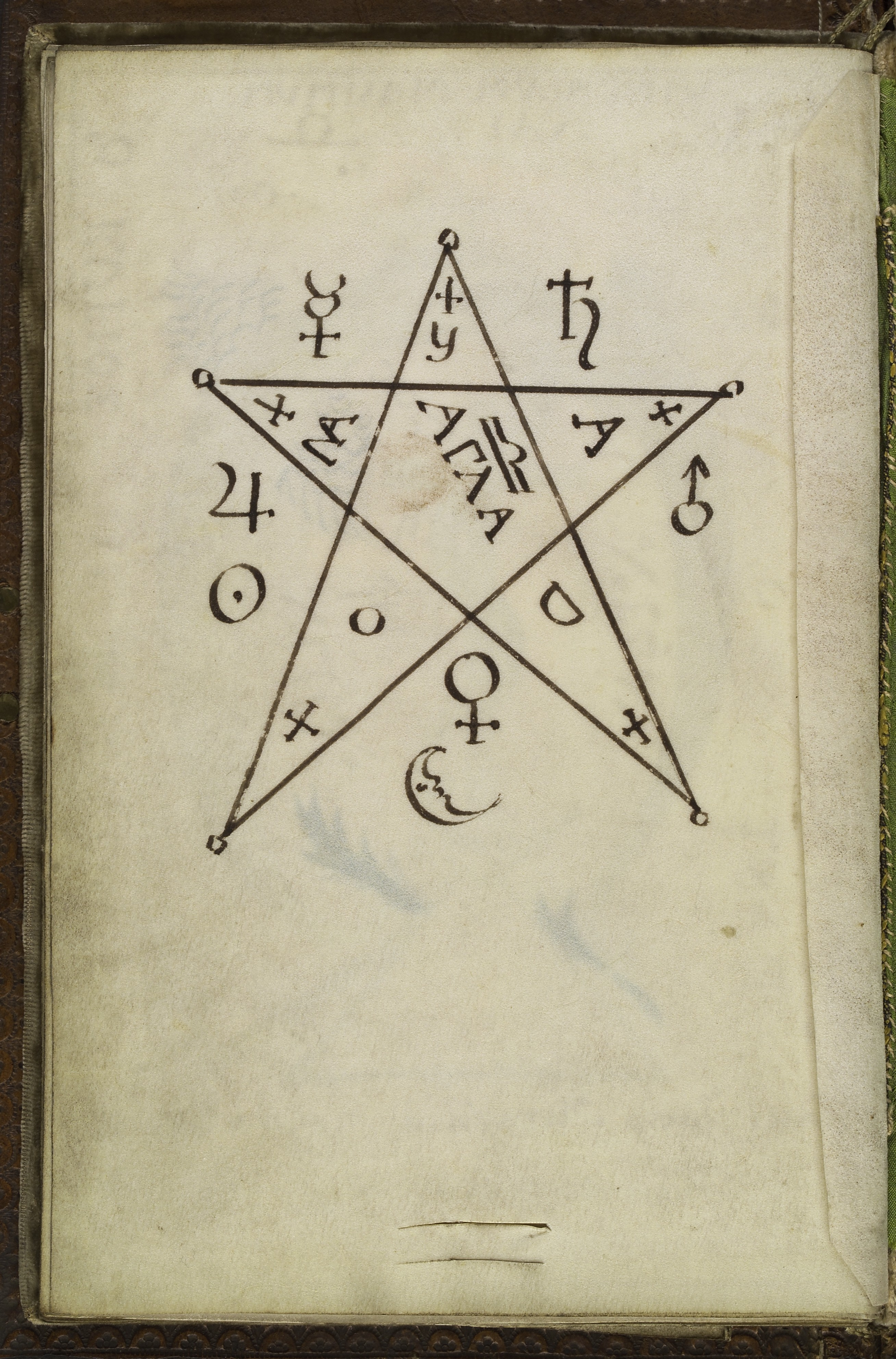 File Pentagram Seal From Cyprianus 18th C Wellcome