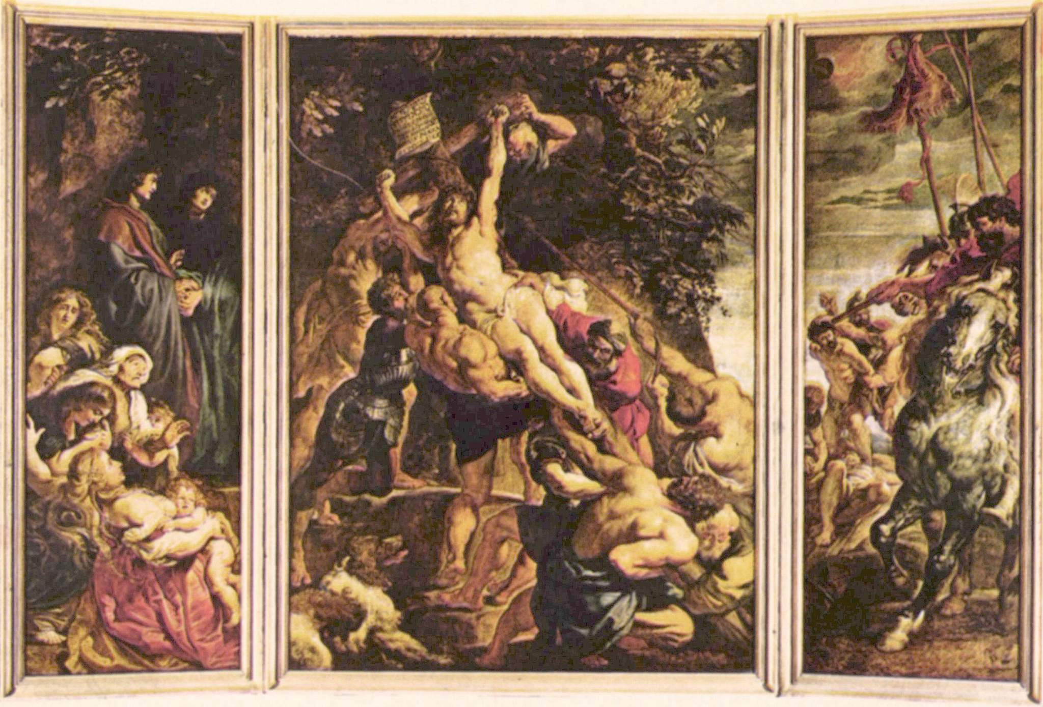 File Peter Paul Rubens Raising Of The Cross Tryptich Jpg