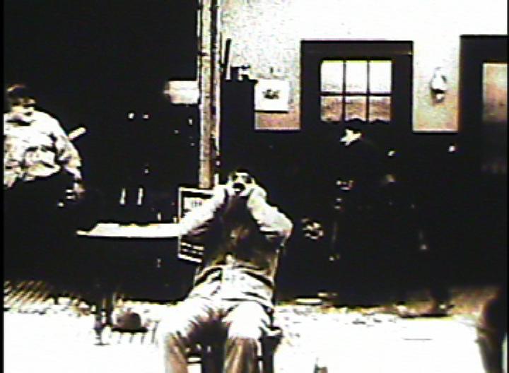 Kuchenschlacht - Stummfilmszene um 1916 - Quelle: WikiCommons