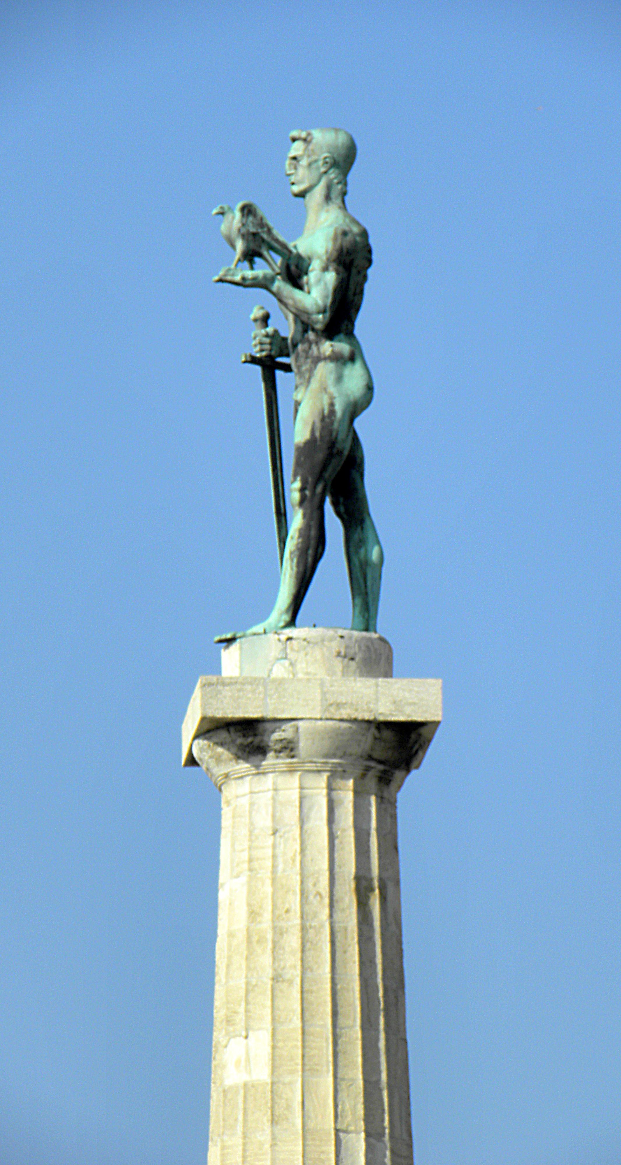Памятник Победителю на Калемегдане