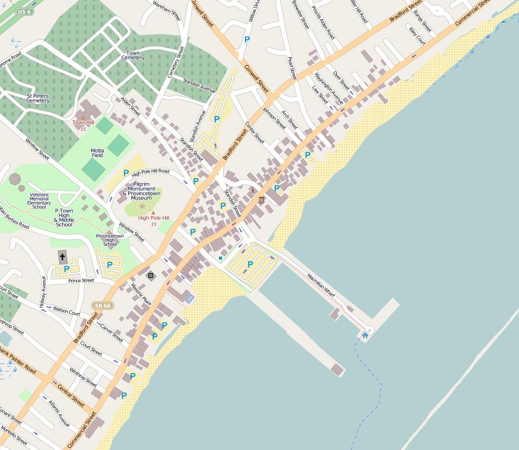 File Provincetown map Wikimedia mons
