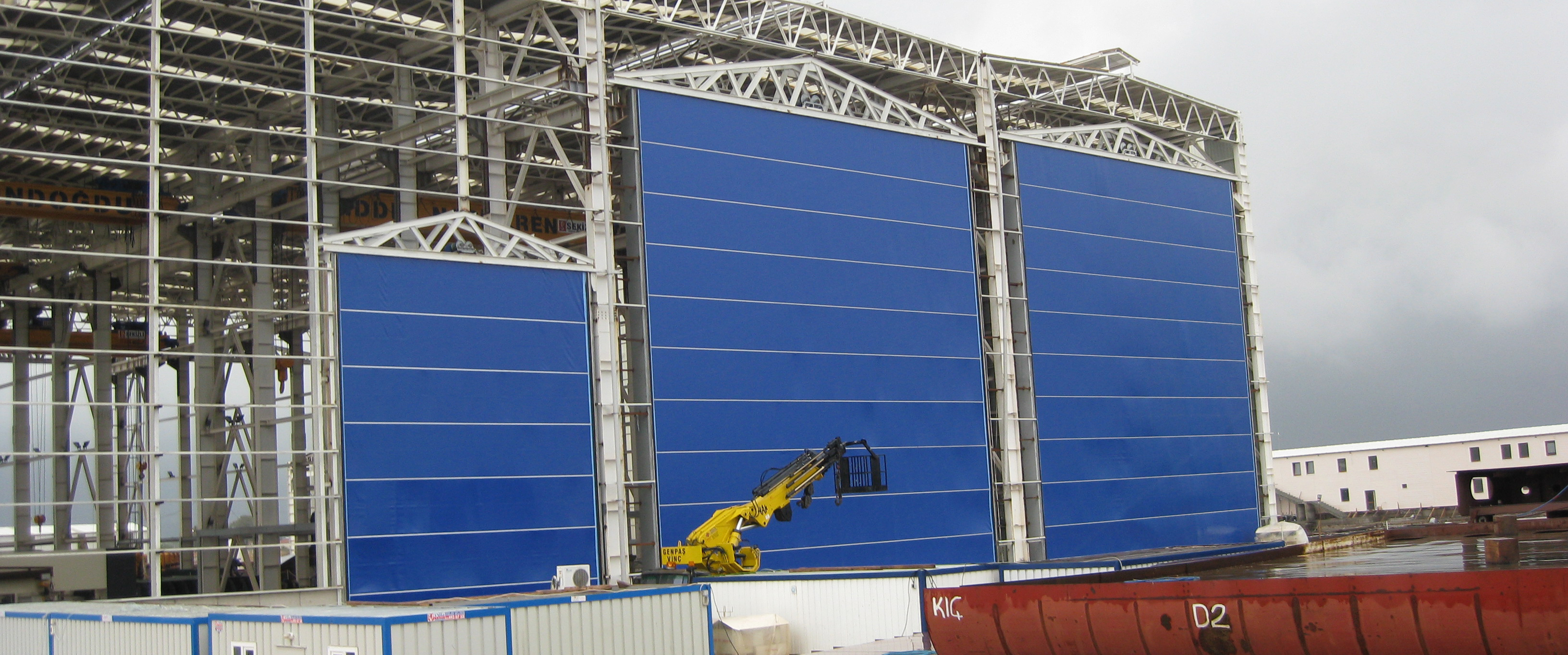 Insulated Aircraft Hangar Door Repair Vortex Doors Blog