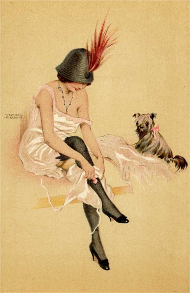Pin-up de Raphael Kirchner