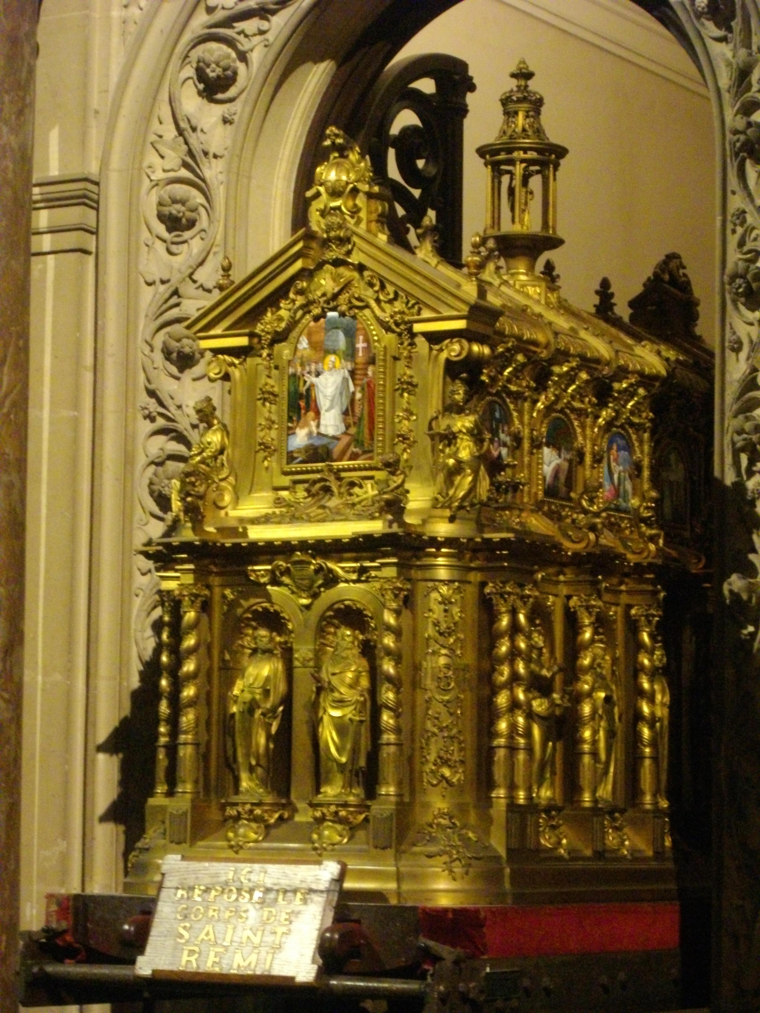 fichier reims basilique saint remi tombeau de saint r mi 01 jpg wikip dia. Black Bedroom Furniture Sets. Home Design Ideas