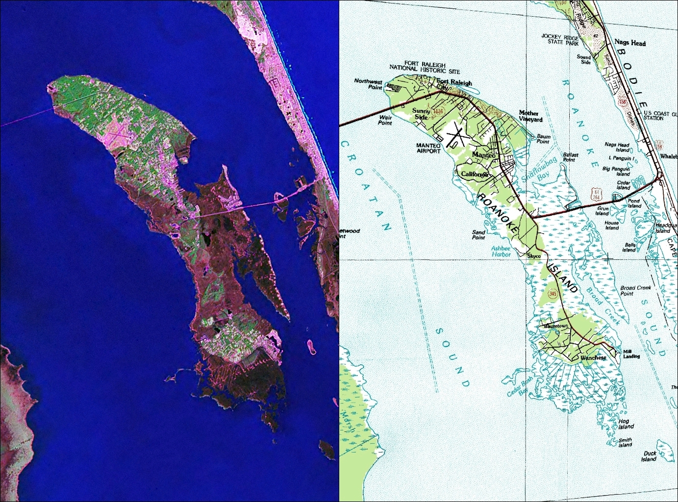Roanoke Island - Wikipedia on