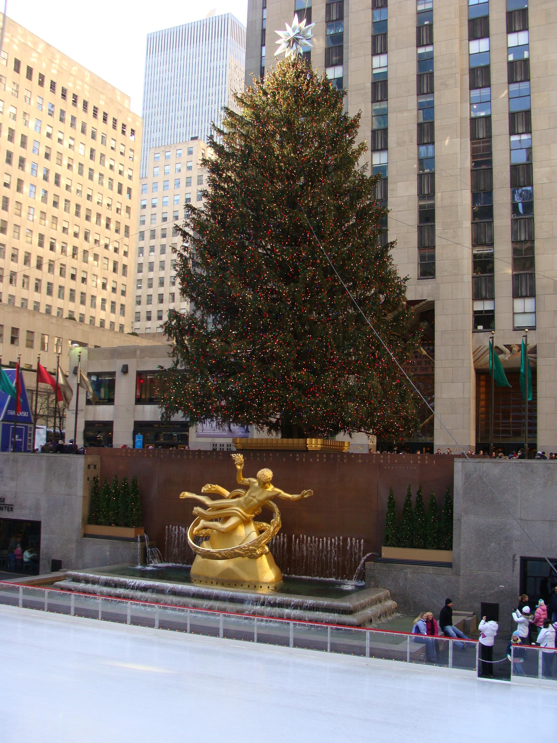 FileRockefeller Plaza ChristmasJPG