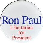 Ron Paul presidential campaign button, 1988.png